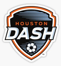 Houston Dash Logo Sticker