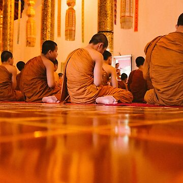 Monks in Thailand  by sayingstoliveby