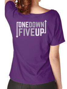Motorcycle One Down Five Up Gear Shifter Women's Relaxed Fit T-Shirt