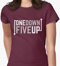 Motorcycle One Down Five Up Gear Shifter Women's Fitted T-Shirt