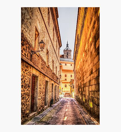 Streets of Toledo Photographic Print