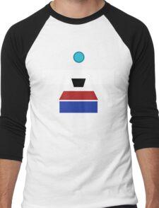 Minimalist Clap-Trap Men's Baseball ¾ T-Shirt