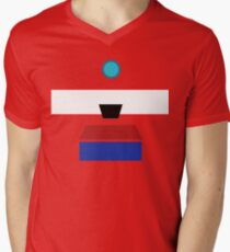 Minimalist Clap-Trap Men's V-Neck T-Shirt