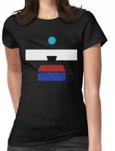 Minimalist Clap-Trap Womens Fitted T-Shirt