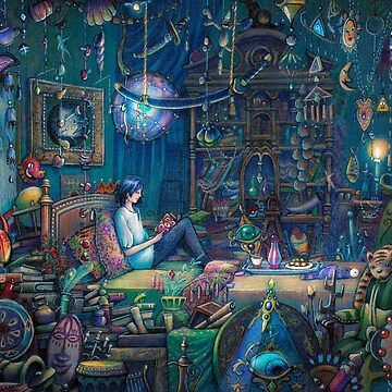 Howl's room in Moving Castle by illustore
