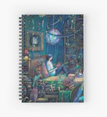 Howl's room in Moving Castle Spiral Notebook