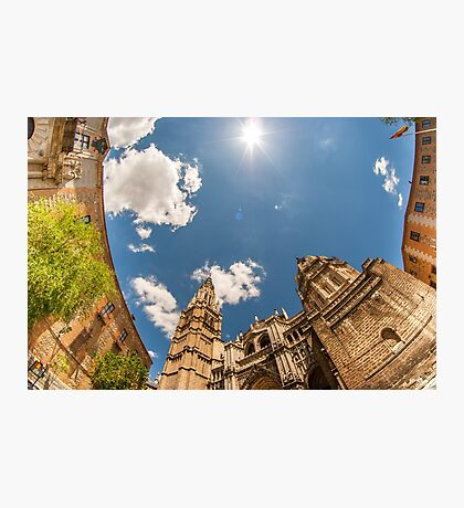 Primate Cathedral of Saint Mary of Toledo Photographic Print