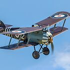 TVAL Sopwith 7F.1 Snipe F2367 ZK-SNI by Colin Smedley