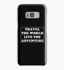 Travel the World Samsung Galaxy Case/Skin