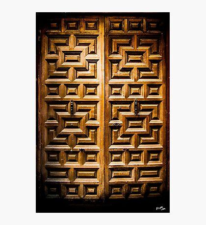 Jewish Door Photographic Print