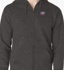 Blake's 7 - Federation Symbol (Pocket Version) Zipped Hoodie