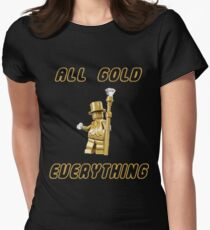 All Gold Everything Women's Fitted T-Shirt