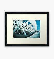 Modern Monuments Framed Print