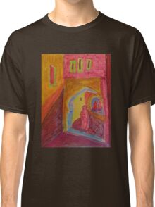 Atlas Travel Desert Caravan 2 village t shirt Classic T-Shirt