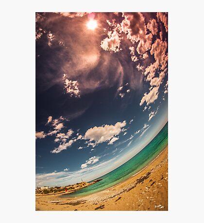Rounded Coast Photographic Print