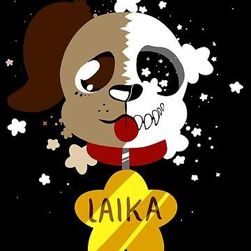 Laika - space dog by MesmeroMania