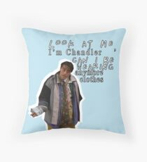 Friends TV Show - Joey Quote Throw Pillow