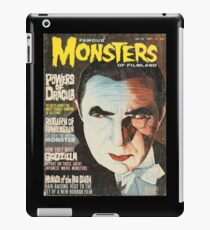 Famous MONSTERS of Filmland iPad Case/Skin