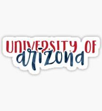University of Arizona - Style 1 Sticker