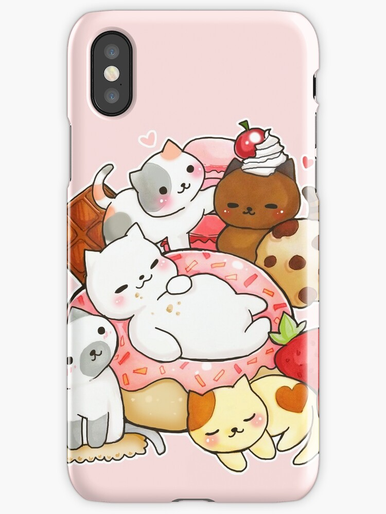 Neko Atsume sweet cats by linkitty