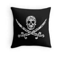 Pirate Service Announcement Throw Pillow