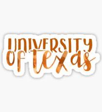 University of Texas - Style 1 Sticker