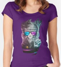 Smoky Women's Fitted Scoop T-Shirt