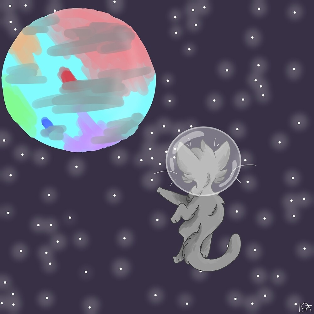 Space Cat by TiredFox