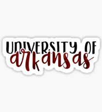 University of Arkansas - Style 1 Sticker