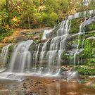 Liffey Falls .. a different angle by Michael Matthews