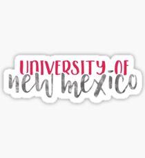 University of New Mexico - Style 1 Sticker
