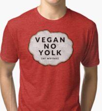 Funny Vegan Tri-blend T-Shirt