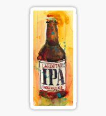 IPA Lagunitas Beer Art Sticker