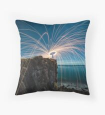 The last spin Throw Pillow