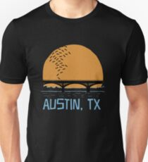 Austin Texas Bat Bridge  Unisex T-Shirt