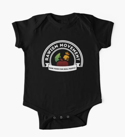 Vegan Vegetarian Rawish Movement Kids Clothes