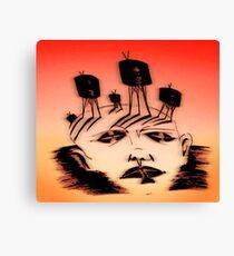 mind over media Canvas Print