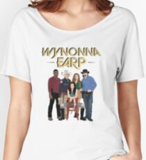 Wynonna Earp, The Black Badge Division Team Women's Relaxed Fit T-Shirt