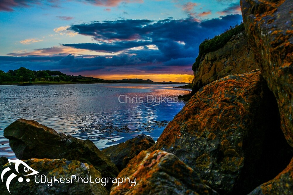 Sunset in Ballyshannon LS by Chris Dykes