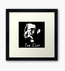 The Clap Framed Print