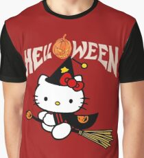 Kitty_Helloween Graphic T-Shirt
