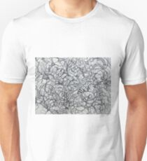 "The Artist Adamo ""RAW Coceptual Sharpie french curve 2014"" T-Shirt"