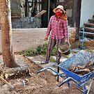 Khmer Female Laborer by V1mage