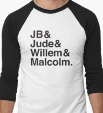 JB & Jude & Willem & Malcolm  Men's Baseball ¾ T-Shirt