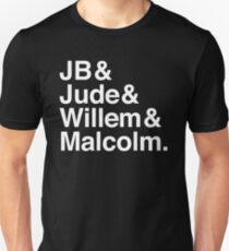 A LITTLE LIFE book JB & Jude & Willem & Malcolm (in white) Unisex T-Shirt