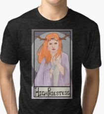 The High Priestess Tri-blend T-Shirt