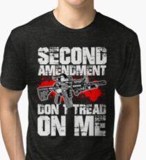 NE ME MARCHEZ PAS T-shirt chiné