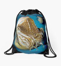 Chambered Nautilus Drawstring Bag
