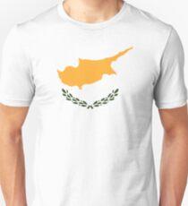 Cyprus flag Cyprus map Unisex T-Shirt