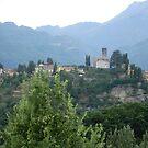 Barga Duomo Tuscanny by Jackie Wilson